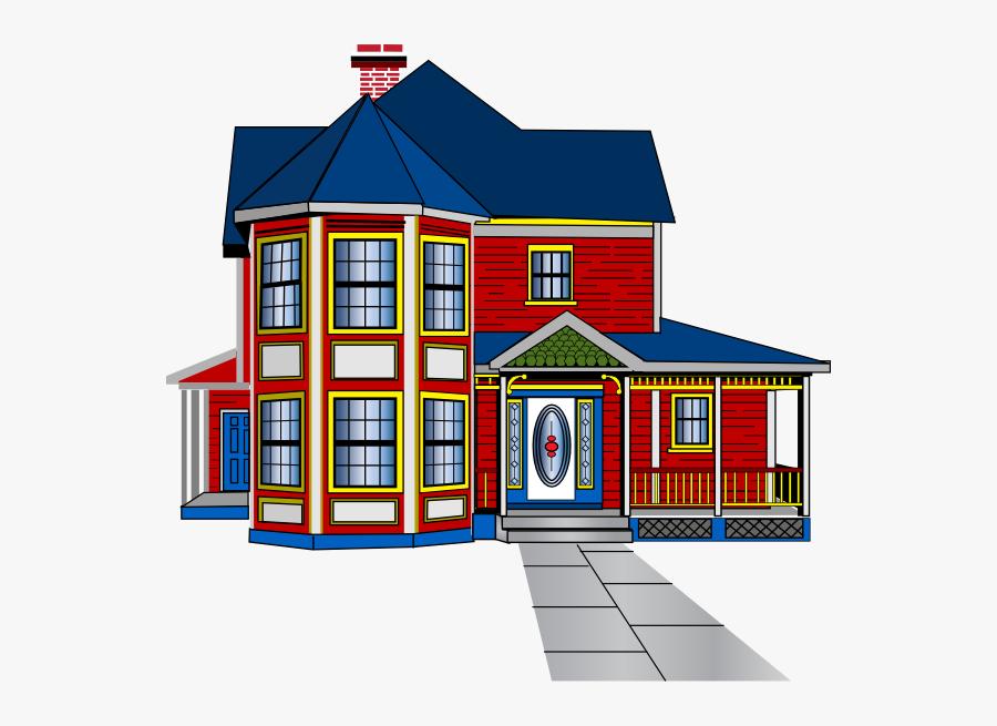 Aabbaart Car Game House 2 Clip Art - House Clip Art, Transparent Clipart