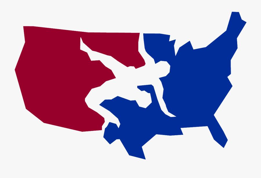 Usa Wrestling Logo , Free Transparent Clipart - ClipartKey