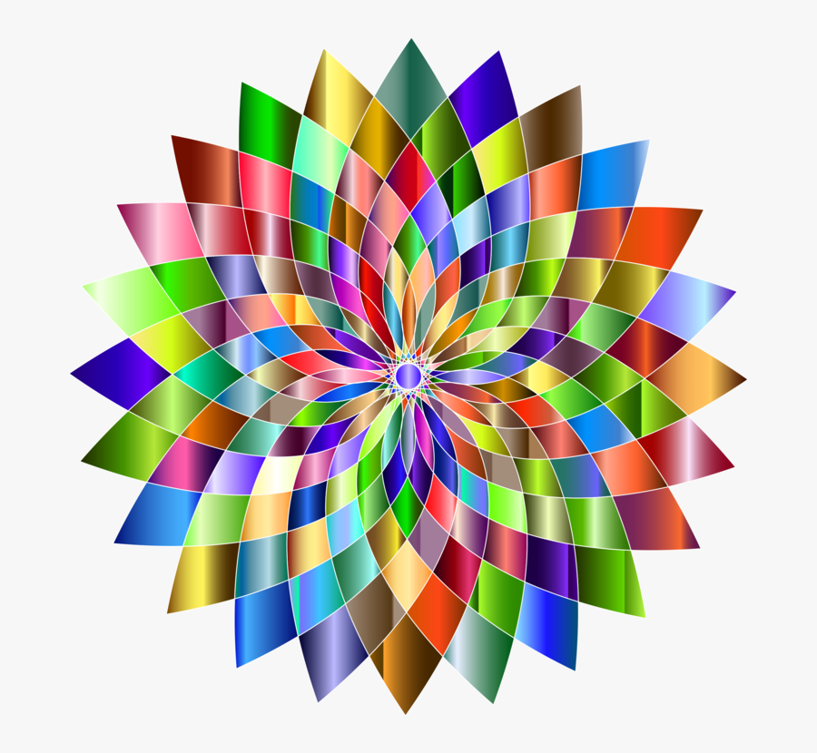 Triangle,symmetry,spiral - Abstract Art, Transparent Clipart