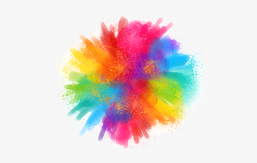 Holi Colors Png Image Free Download Searchpng - Happy Holi Hd Png, Transparent Clipart