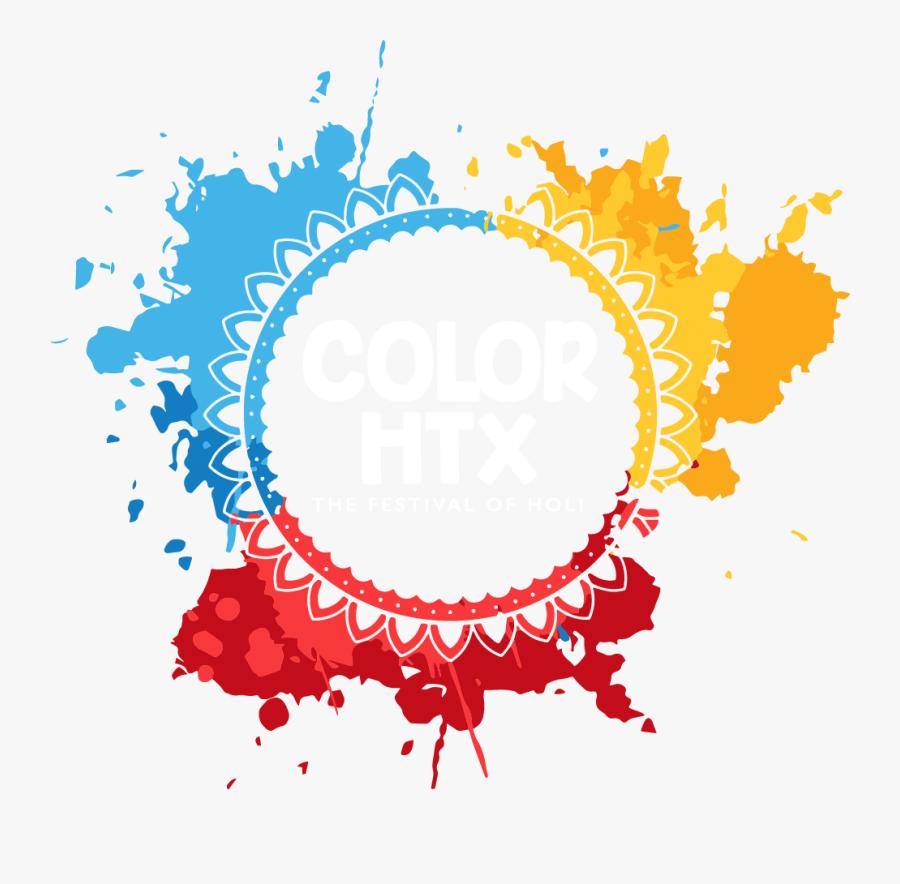 Color Htx Logo - Festival Of Colors Logo, Transparent Clipart