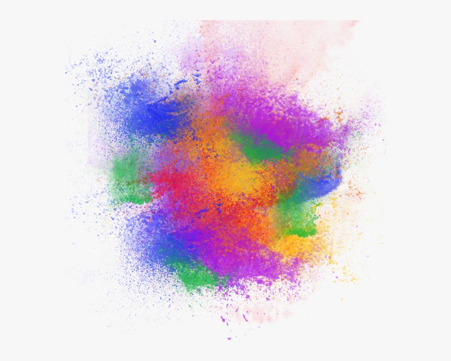 Color Splash Background Png, Transparent Clipart