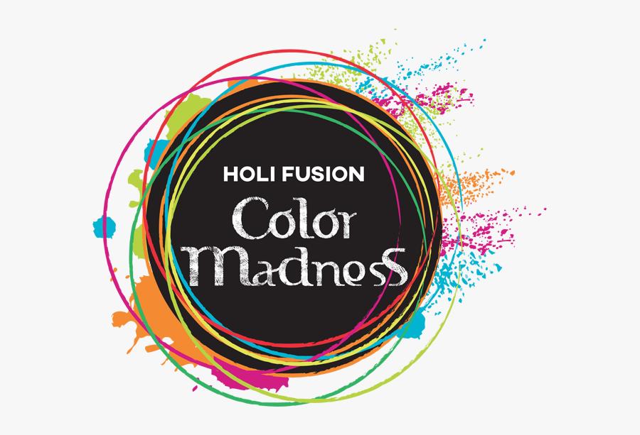 Holi Fusion Color Madness, Transparent Clipart
