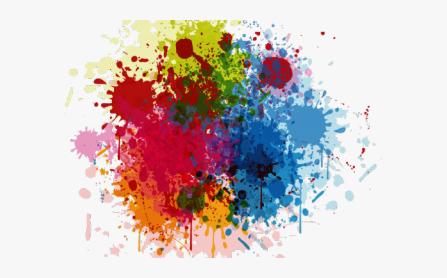 Color Splash Png, Transparent Clipart