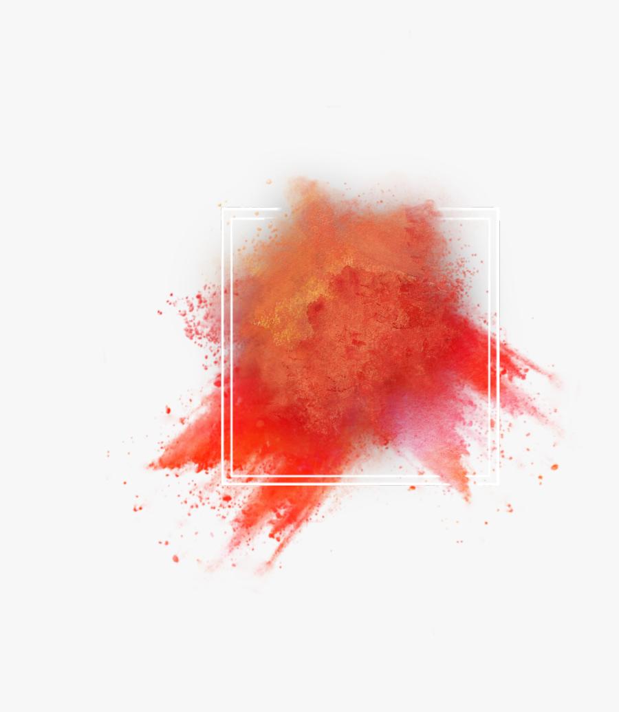 Color Powder Explosion Png - Transparent Color Effect Png, Transparent Clipart