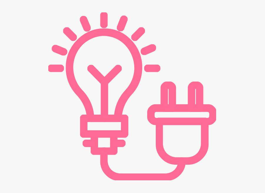 Energy Araw Clipart - Light Bulb White Symbol, Transparent Clipart