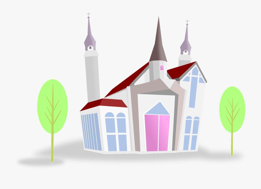 Church, Transparent Clipart