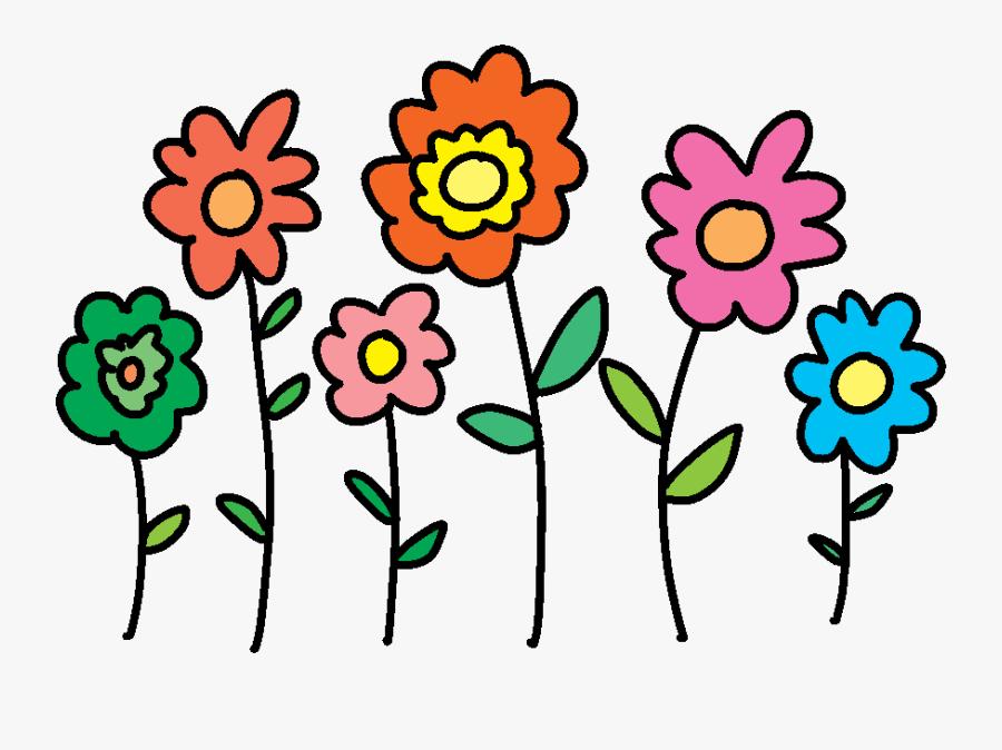 Flower Design Png Birthday, Transparent Clipart