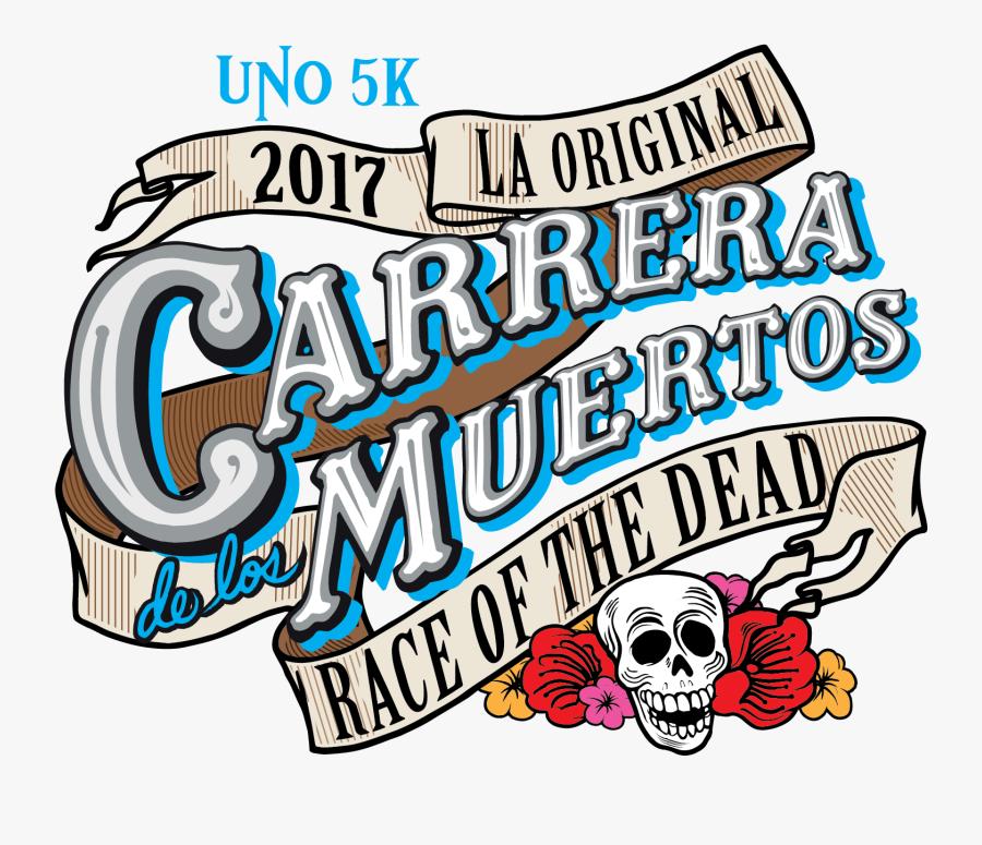Clipart Banner Day The Dead - Carrera De Los Muertos 2017, Transparent Clipart