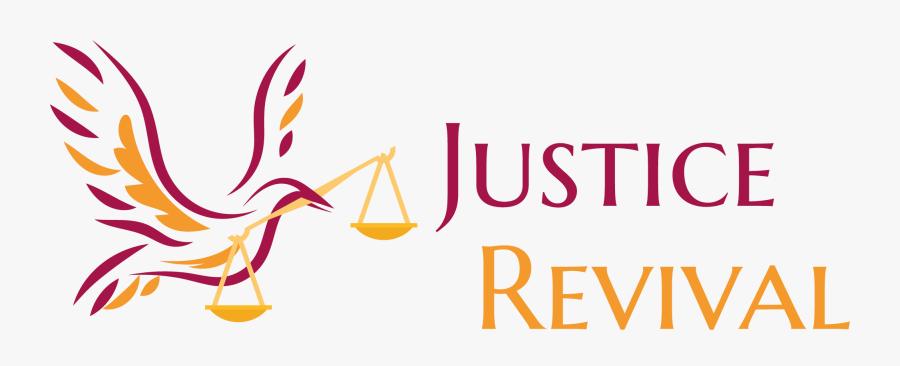 Logo Footer - Justice Revival, Transparent Clipart