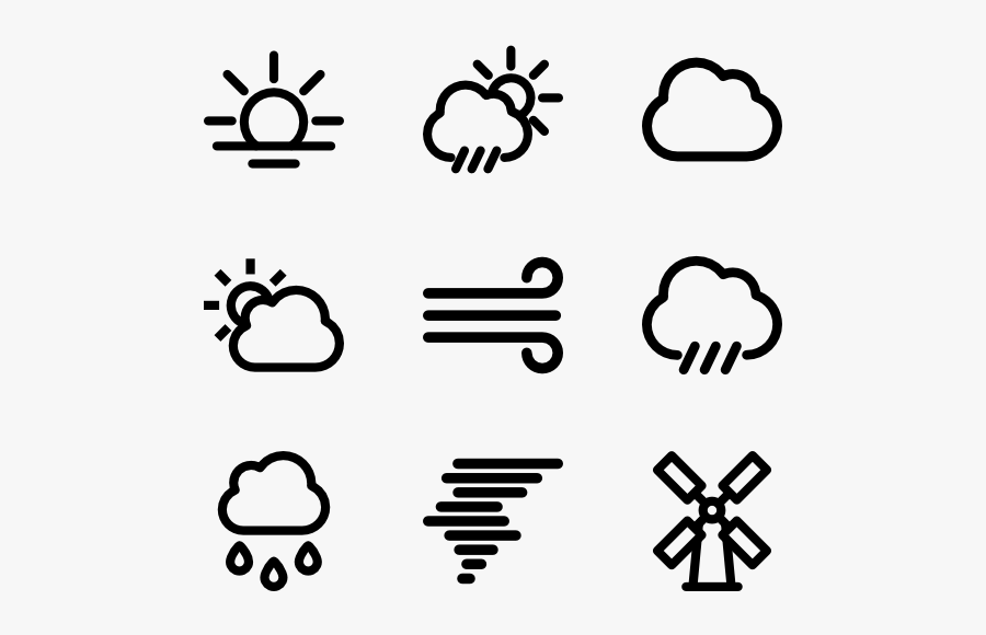 Weather - Quit Smoking Icon, Transparent Clipart