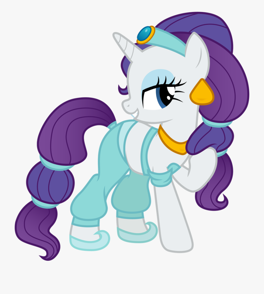 Mickey - My Little Pony Disney Rarity Princess, Transparent Clipart