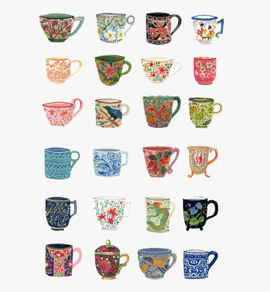 Cup, Tea, And Art Image - Becca Stadtlander Tea, Transparent Clipart