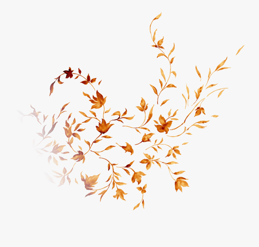 Transparent Blowing Leaves Clipart Transparent Golden Leaves Free Transparent Clipart Clipartkey
