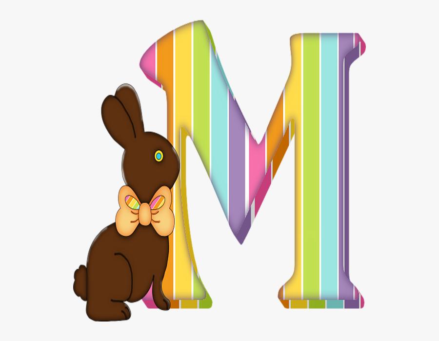Easter Letter N, Transparent Clipart