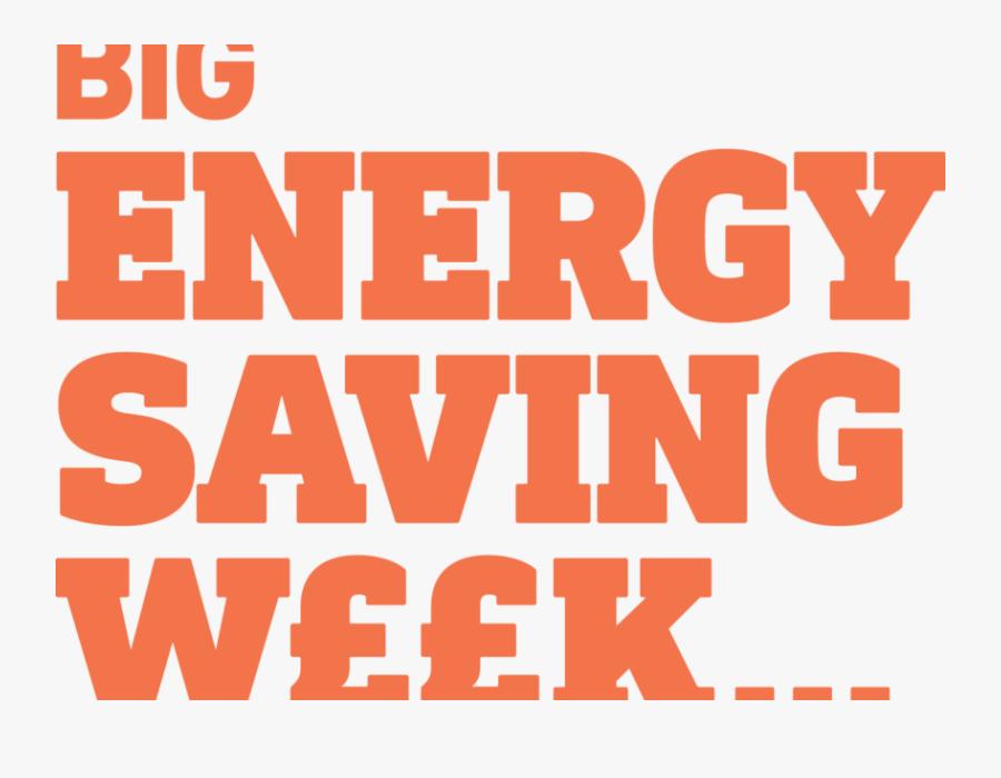 Big Energy Saving Week - Poster, Transparent Clipart