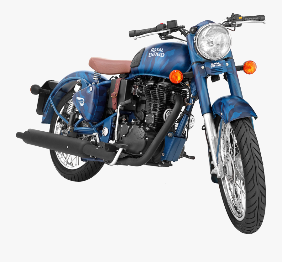 Limited Edition Royal Enfield Classic 500 Colours, Transparent Clipart