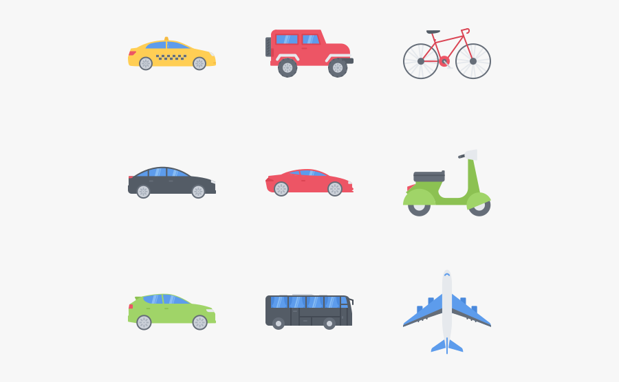 Transport - City Car, Transparent Clipart