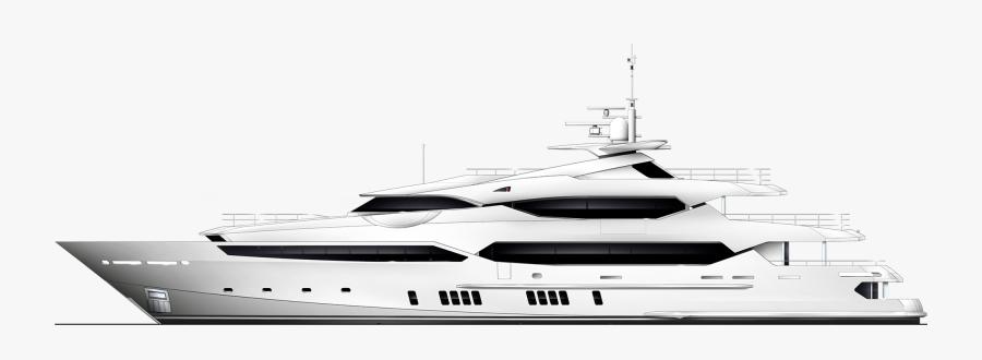Luxury Yacht Transparent Background, Transparent Clipart