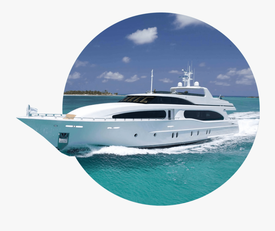Luxury Yacht, Transparent Clipart