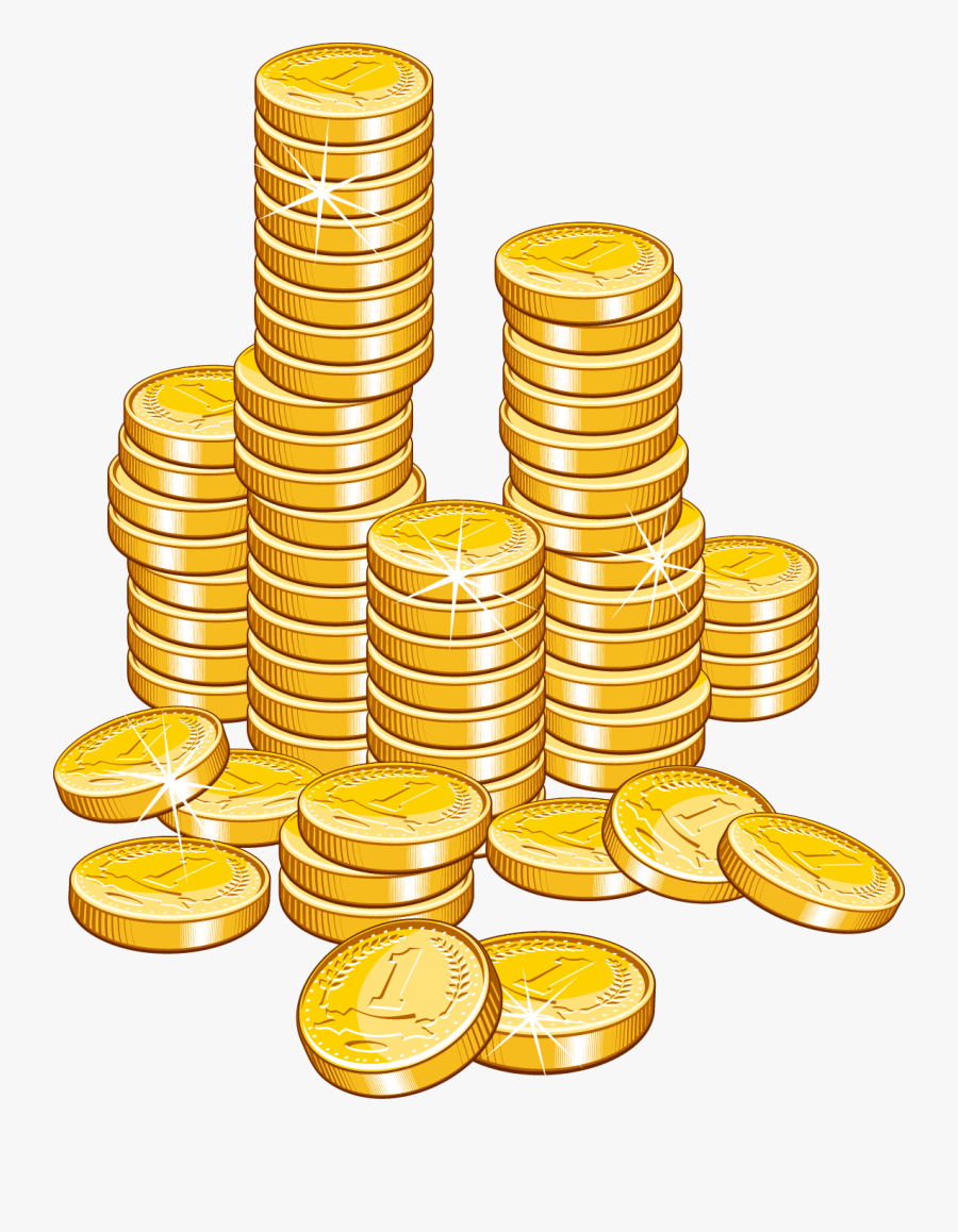 Pile Of Gold Coins Png - Transparent Background Coins ... (900 x 1158 Pixel)
