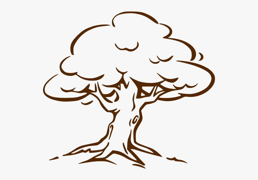 Tree Black And White, Transparent Clipart