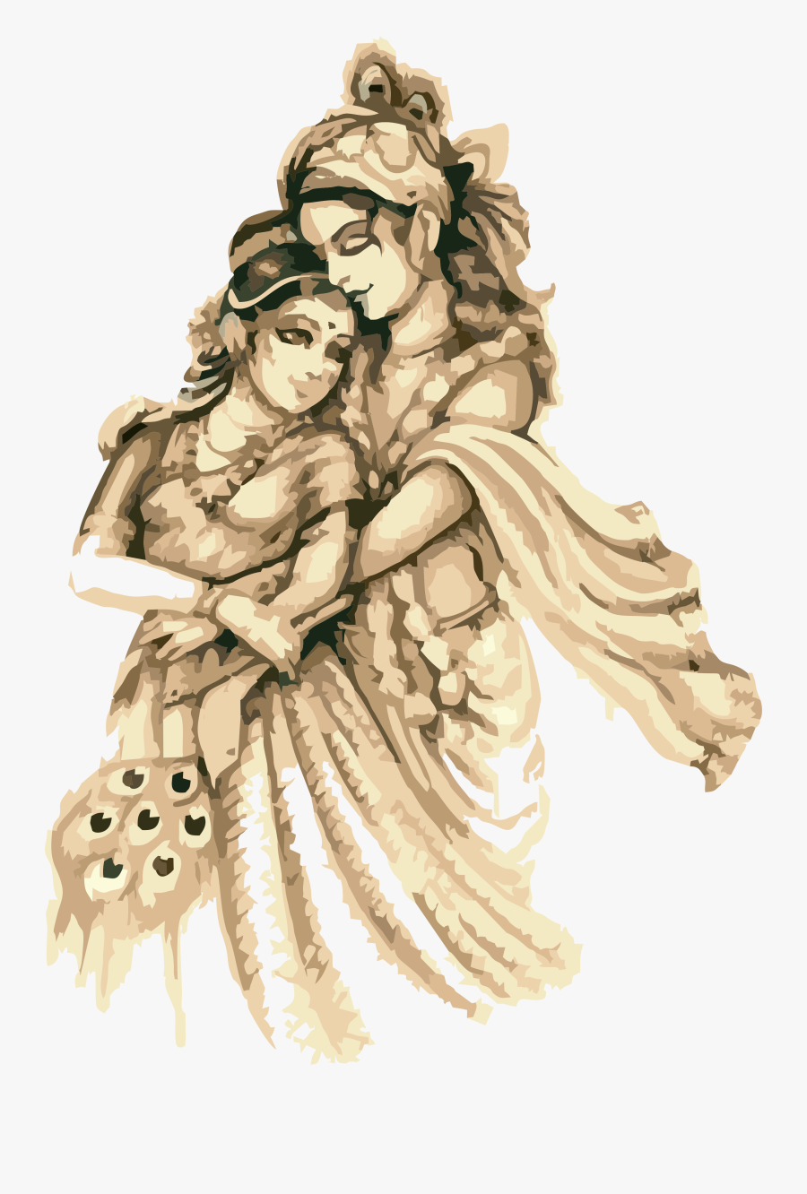 Krishna, Transparent Clipart