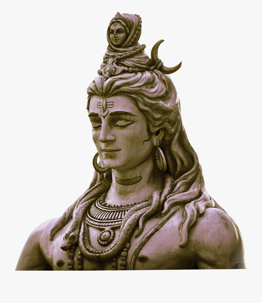 Lord Shiva Statue Png, Transparent Clipart