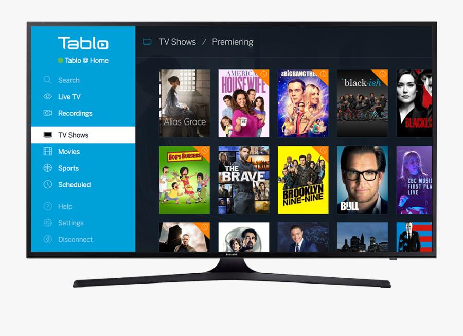 Samsung Led Tv Png - Tablo App For Samsung Smart Tv, Transparent Clipart