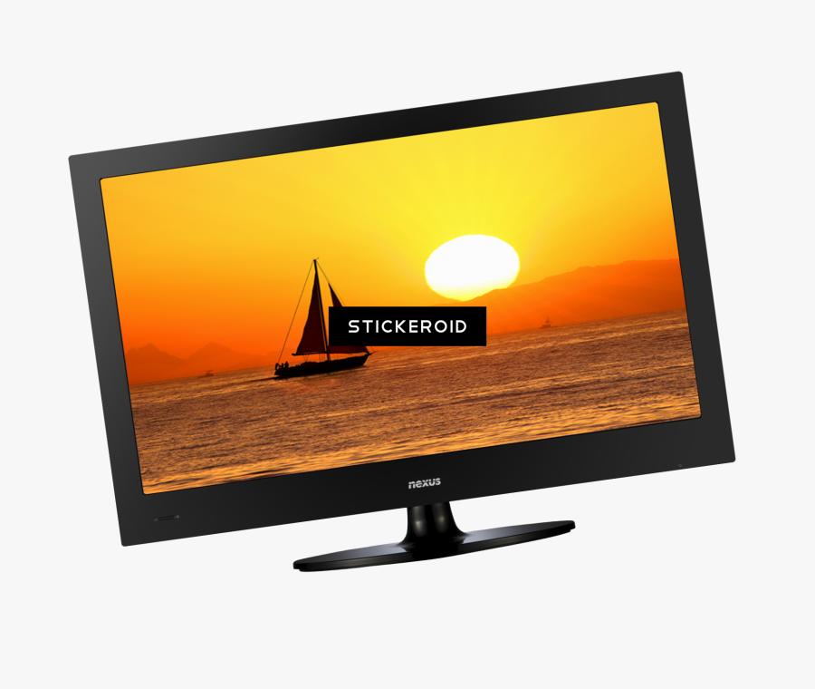 Transparent Old Tv Png - Led-backlit Lcd Display, Transparent Clipart