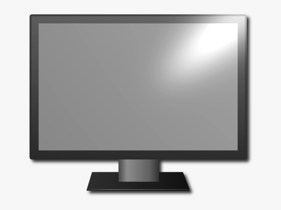 Picto Tv - Computer Monitor, Transparent Clipart