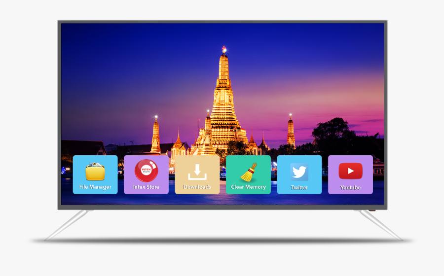 Transparent Big Screen Tv Clipart - Intex 40 Inch Led Price, Transparent Clipart
