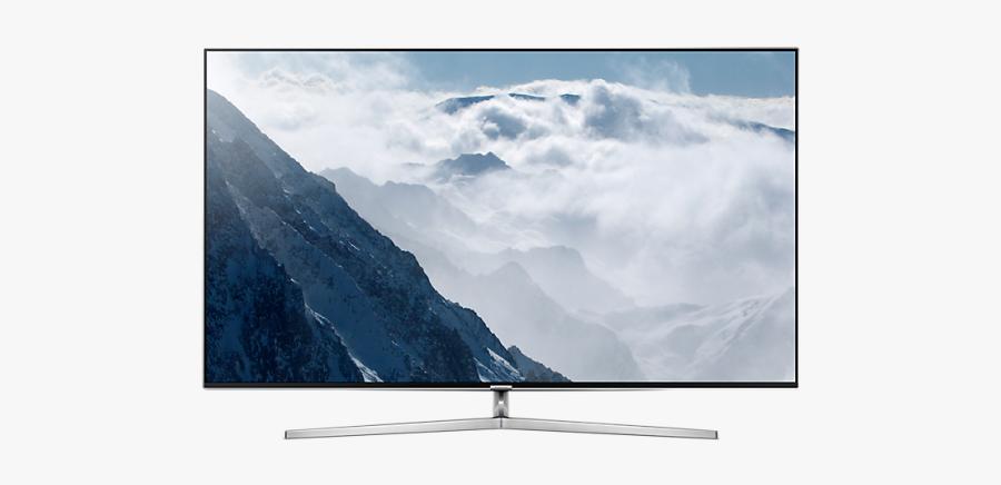 Television Clipart Smart Tv - Samsung Series 8 55, Transparent Clipart