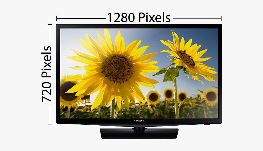 1080p Full High Definition Tv Measurements - Samsung Un28h4000 28 Inch 720p 60hz Led Tv, Transparent Clipart