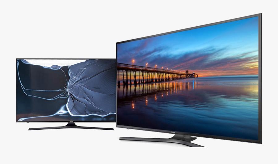 Flat Screen Tv Png, Transparent Clipart