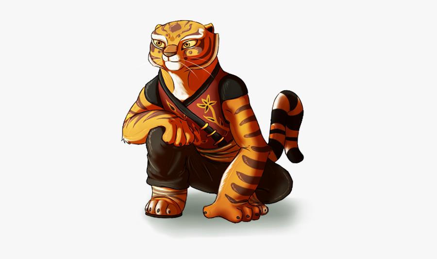 Kung Fu Panda Tigre, Transparent Clipart