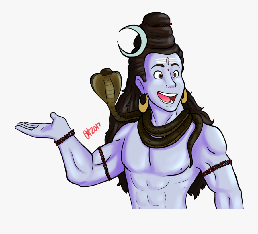 Shiva Kanwar Yatra Drawing Cartoon - Cartoon Lord Krishna Drawing, Transparent Clipart