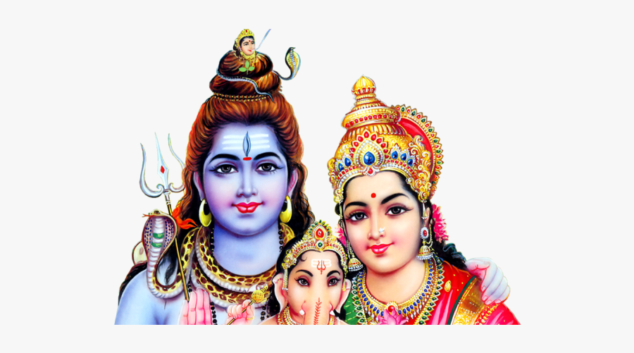 Lord Shiva Parvathi Images Png, Transparent Clipart
