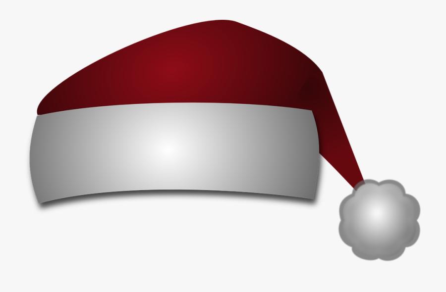 Xmas Santa Claus Cap Hat Png Transparent Images Clipart - Purple Santa Hat Png, Transparent Clipart