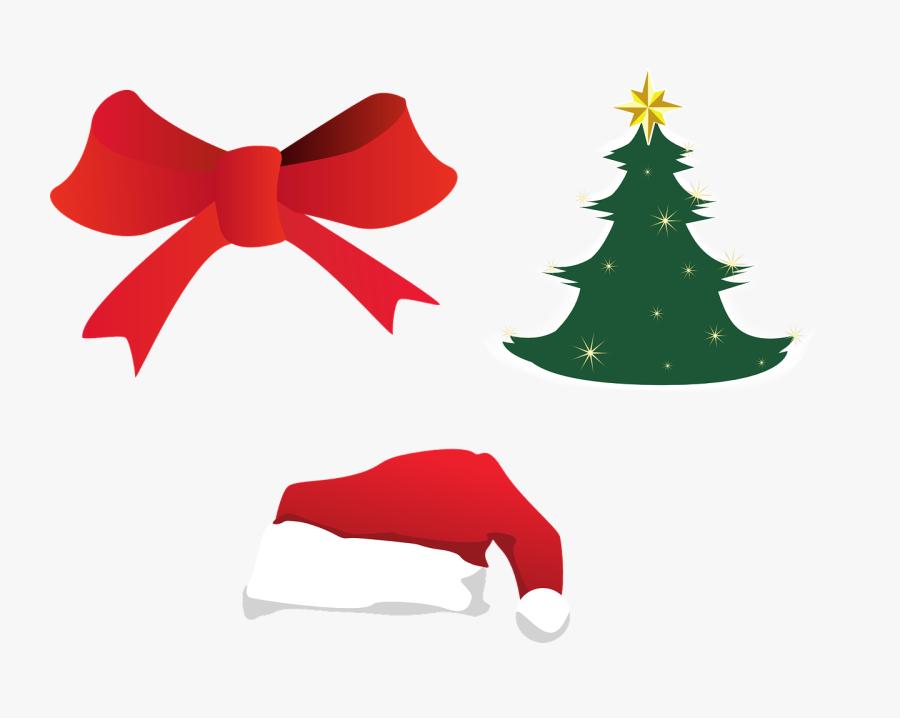 Christmas Christmas Tree Christmas Decoration Free - ของ ตกแต่ง วัน คริสต์มาส, Transparent Clipart