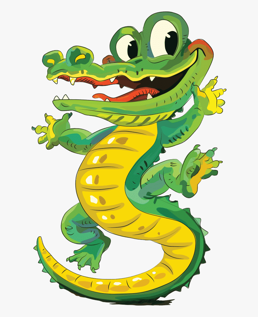 Reptilia Mascot Sir Chomps A Lot - Cartoon, Transparent Clipart