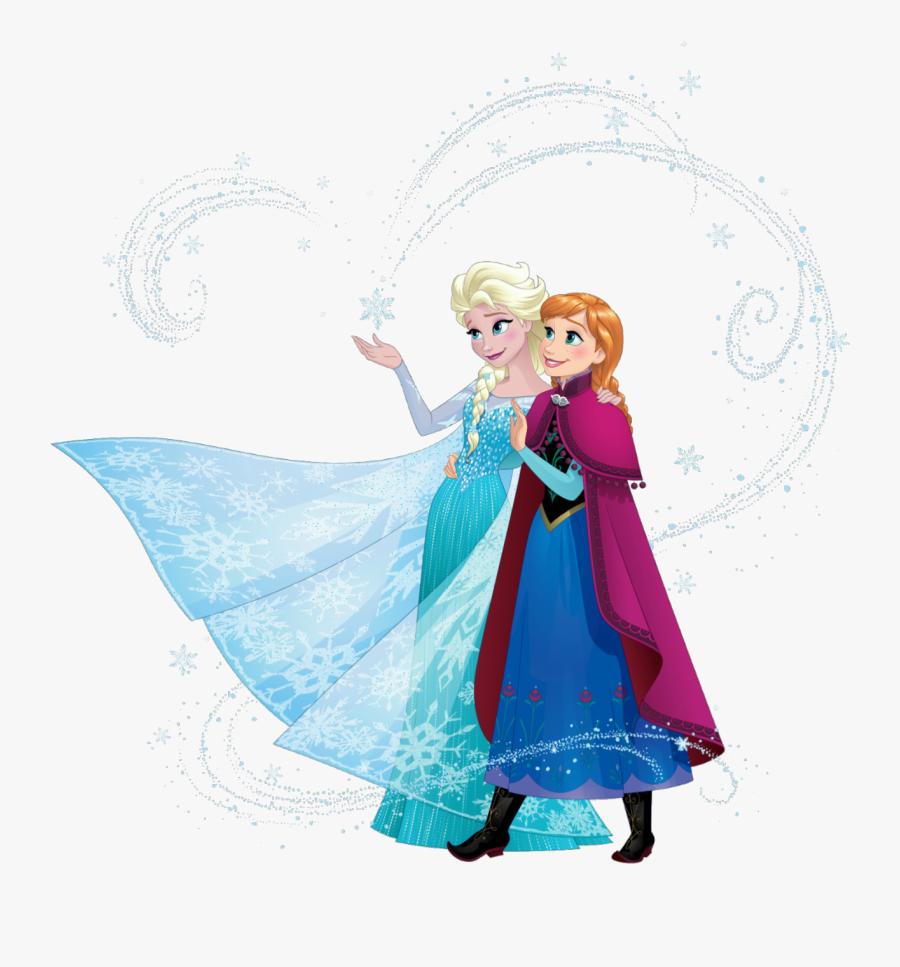 Frozen Elsa And Anna Transparent Png Clipart Free Download - Disney Frozen Elsa And Anna Sisters, Transparent Clipart