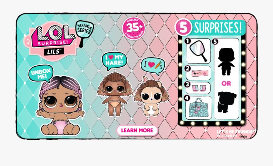 Lol Surprise Fuzzy Pets Wave 2, Transparent Clipart
