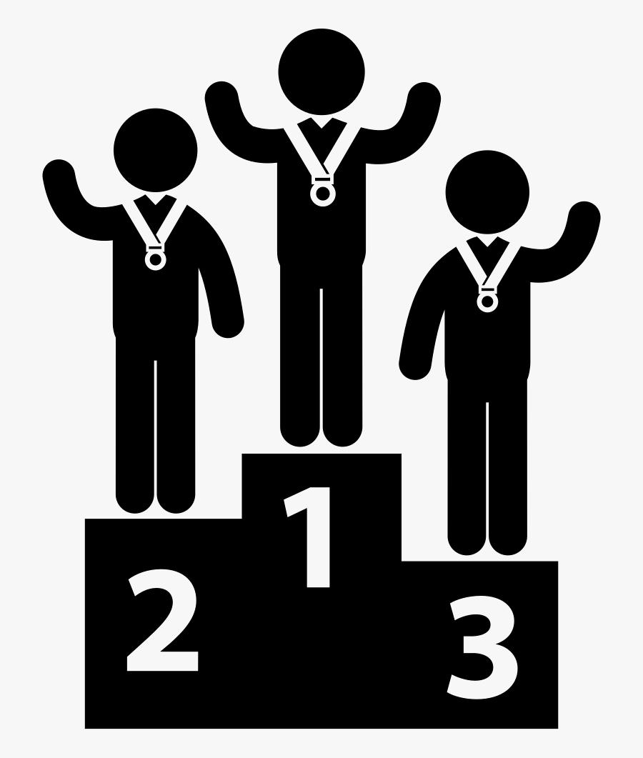 People,social - Podium Icon, Transparent Clipart