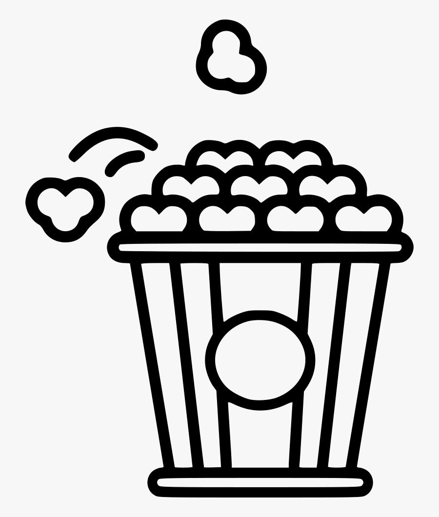 popcorn icon png black free transparent clipart clipartkey popcorn icon png black free