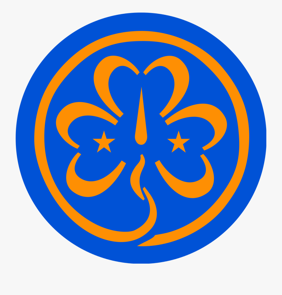 World Association Of Guides - World Association Of Girl Guides And Girl Scouts Logo, Transparent Clipart