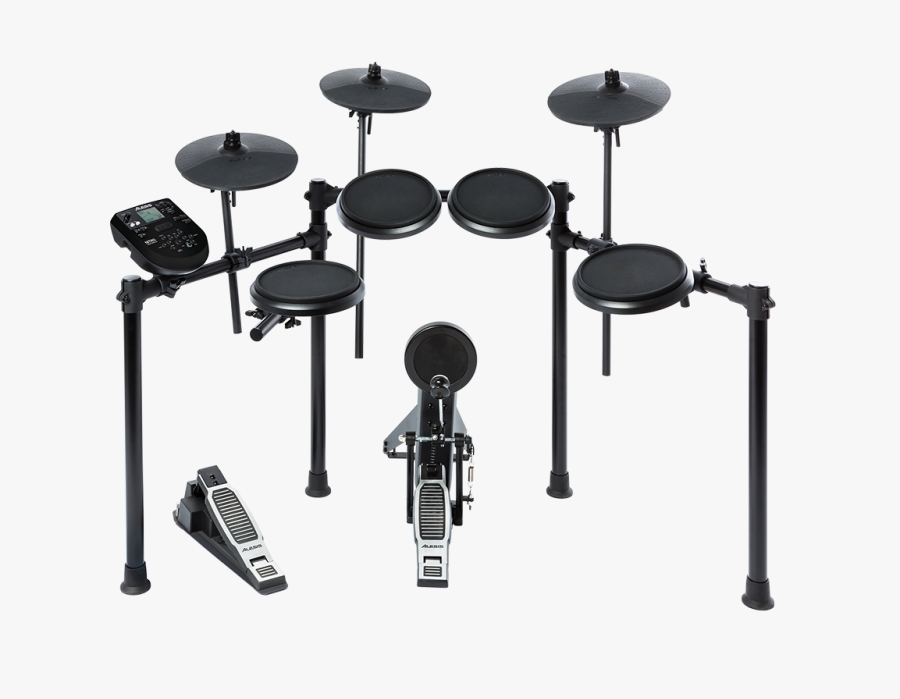 Transparent Drumset Png - Alesis Electric Drum Set, Transparent Clipart
