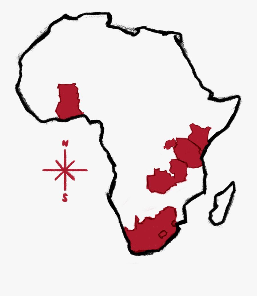 Outline Africa Map Png.Outline Africa Map Png Free Transparent Clipart Clipartkey