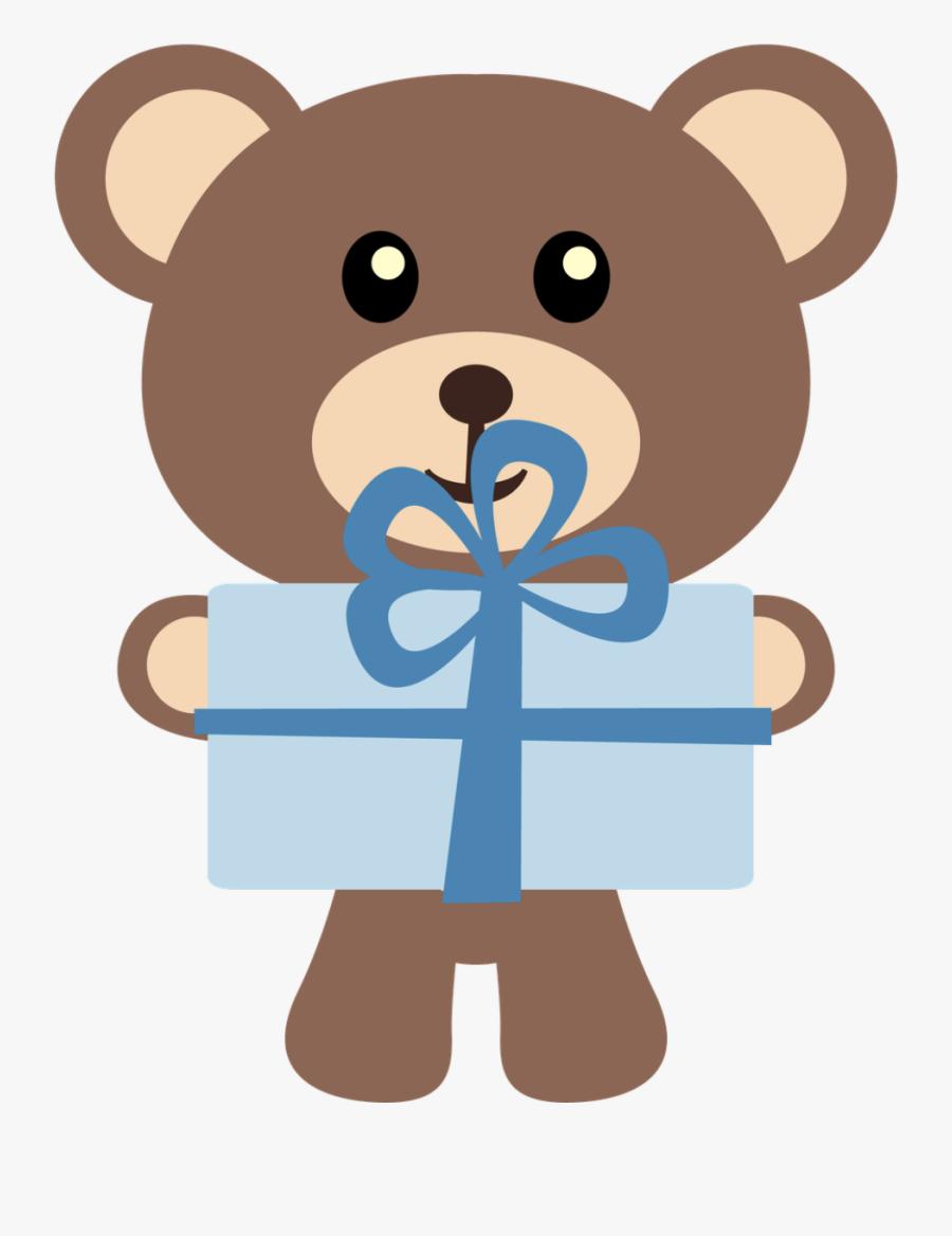 Teddy Bear Baby Shower Child Clip Art - Clipart Teddy Bear Girl, Transparent Clipart