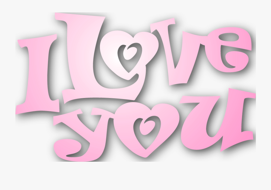 I Love You Png - Love You Png File, Transparent Clipart